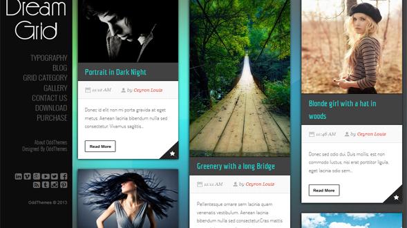 Dram-Grid-Blogger-Template