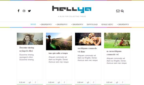Hellya -Responsive-Blogger-Template