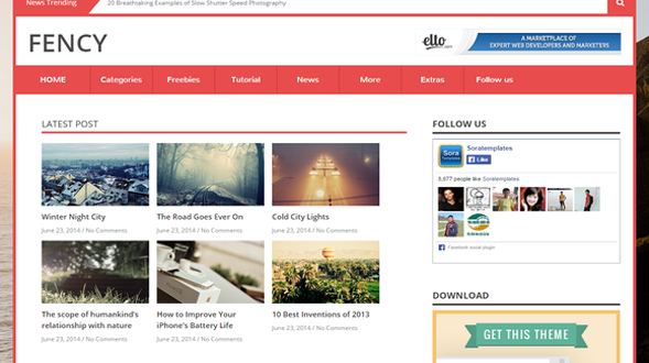 Fency-Responsive-Blogger-Template