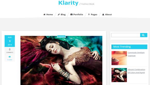 Klarity-Blogger-Template