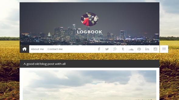 LogBook-Responsive-Blogger-Template