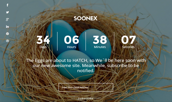 Soonex Responsive Blogger Template