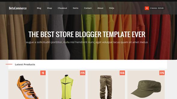 BetaCommerce-Blogger-Template