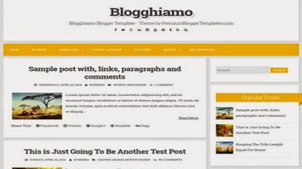 Blogghiamo-Minimal-Blogger-Template