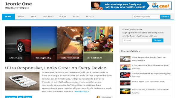 Iconic-One-Responsive-Blogger-Template