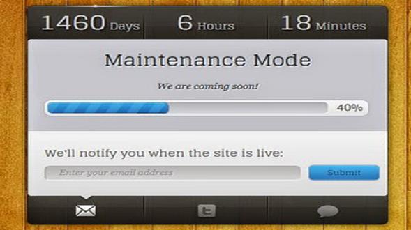 Maintenance-Mode-Blogger-Template