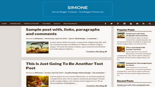 Simone-Responsive-Blogger-Template