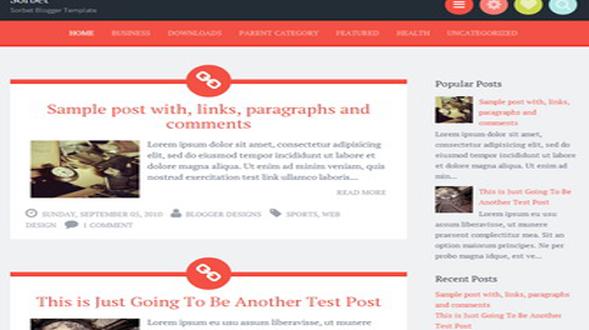 Sorbet-Blogger-Template