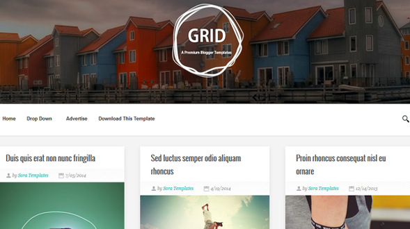 Grid-Responsive-Blogger-Template