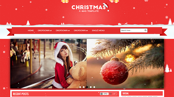 christmas-blogger-template
