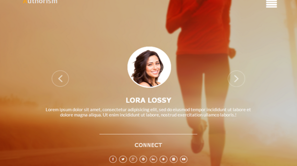 Authorism-Fitness-Blogger-Template