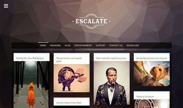 Escalate-Responsive-Blogger-Template