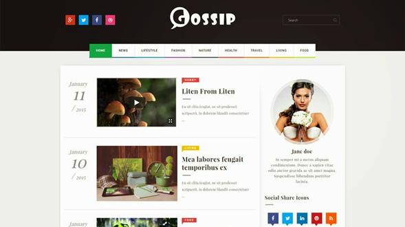 Gossip-Blogger-Template3