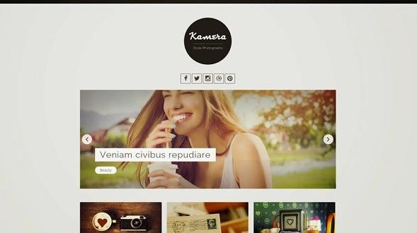Kamera-Blogger-Template