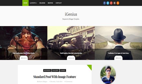 iGenius-Elegant-Blogger-Template