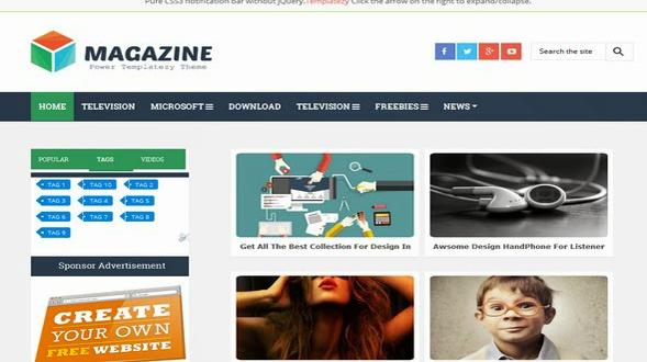 Magazine-Responsive-Blogger-Template