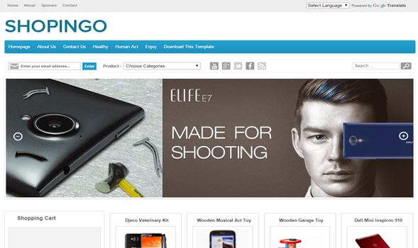 Shopingo-Blogger-Template