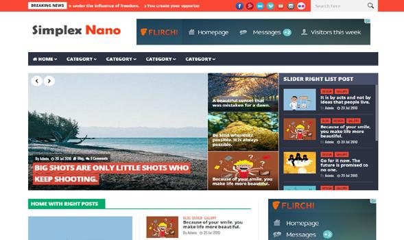 Simplex-Nano-Blogger-Template