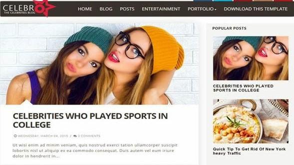 Celebro-Blogger-Template