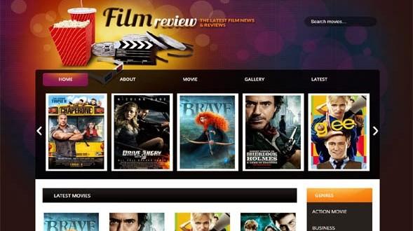 Film-Reviews-Blogger-Template