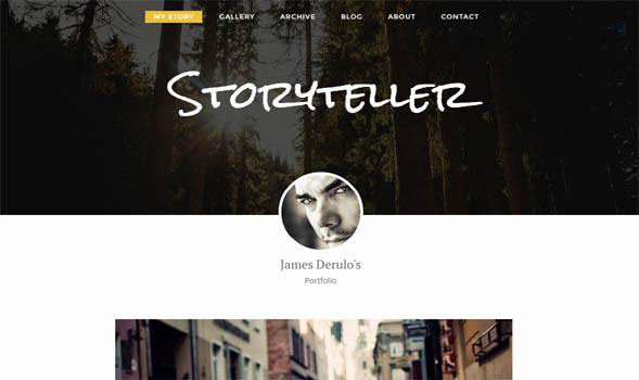 Storyteller-Blogger-Template