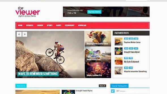 Viewer-Blogger-Template