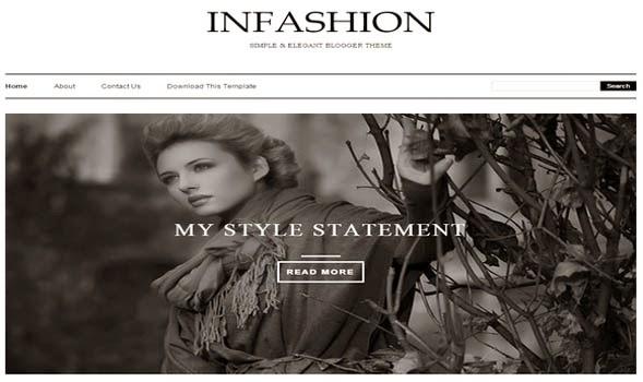 Opal-Elegant-Blogger-Template