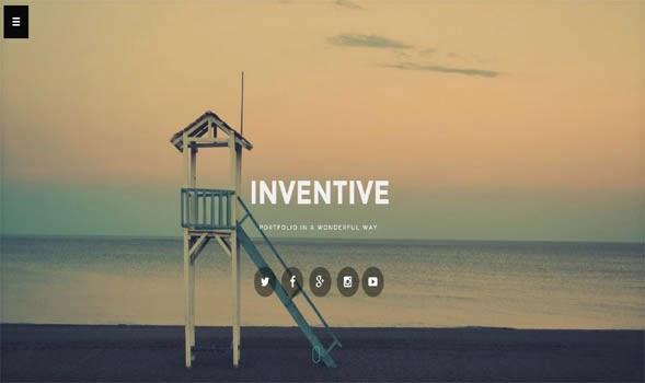 Inventive-Responsive-Blogger-Template