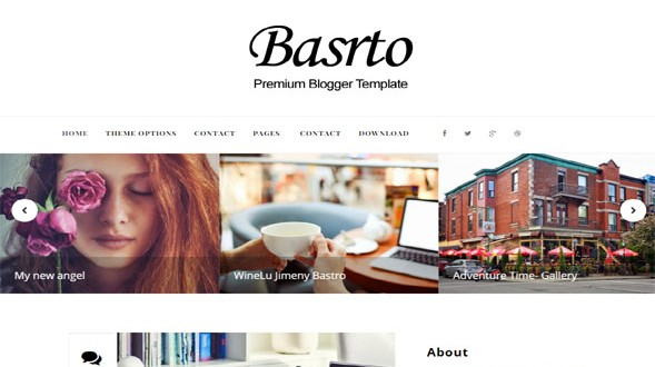 Bastro-Blogger-Template
