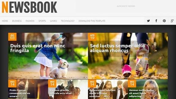 NewsBook-Blogger-Template