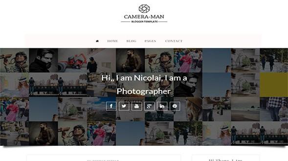 Camera-Man-Blogger-Template