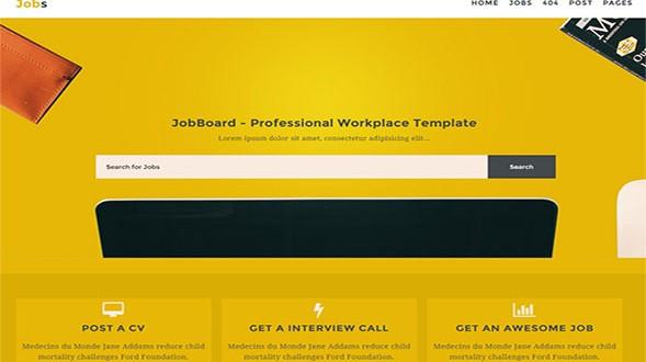 Jobs-Responsive-Blogger-Template