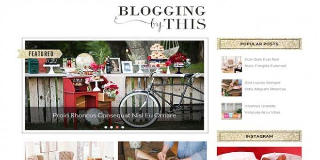 Blogging-Blogger-Template