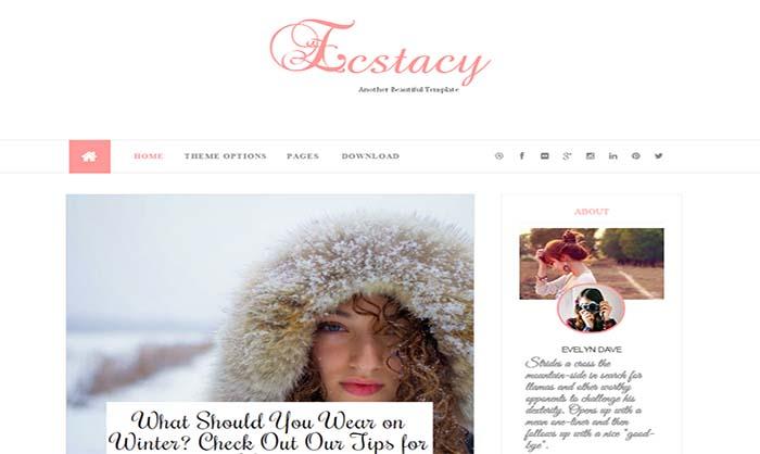 Ecstacy-Blogger-Template