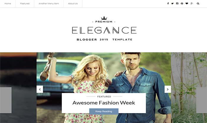 Elegance-Responsive-Blogger-Template