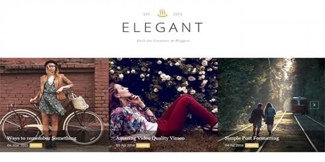 Elegant-Blogger-Template
