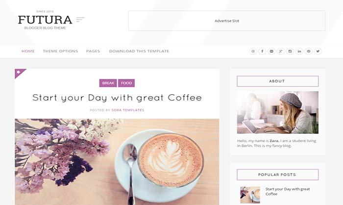 Futura-Blogger-Template