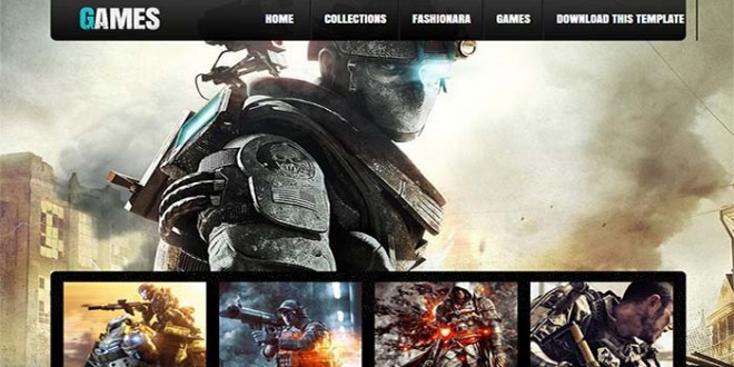 Games-Blogger-Template1
