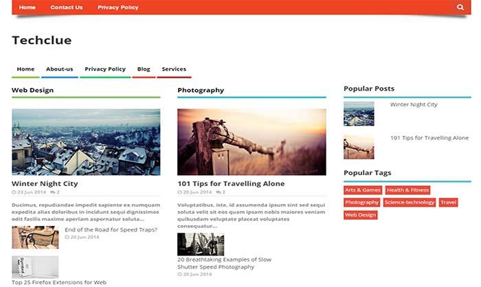 Techclue-Blogger-Template