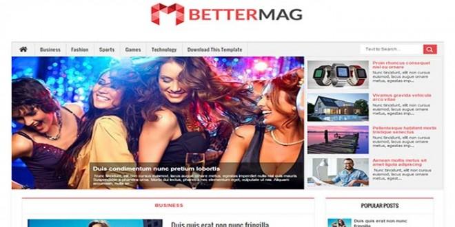 Better Mag Blogger Template