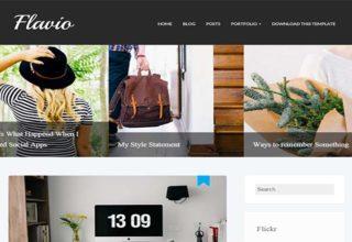 Flavio-Blogger-Template