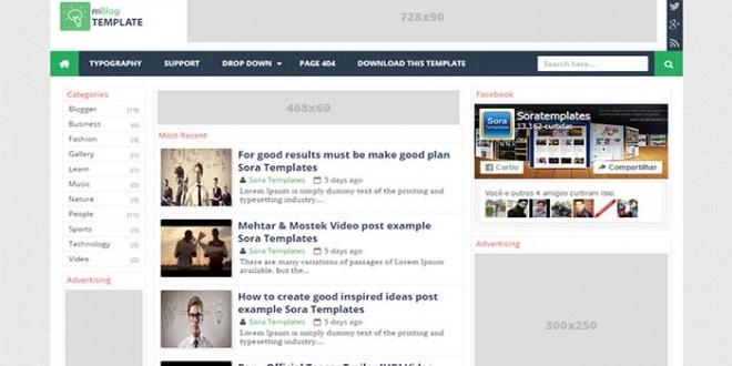 MBlog-Blogger-Template