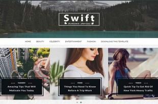 Swift Blogger Template