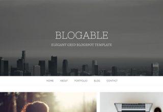 Blogable-Blogger-Template