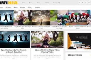 Livinia-Blogger-Template