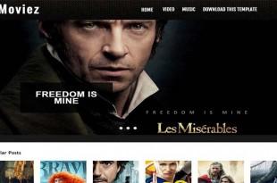 Moviez-Blogger-Template
