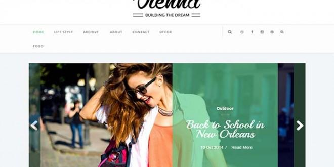 Vienna Blogger Template