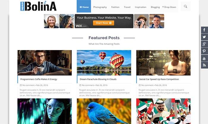 Free Premium Blogger Templates 2017 Free Download