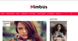 Nimbus Blogger Template