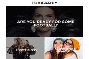 Fotografity Blogger Template